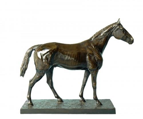 Horse In Bronze - Hans Guradze (1861-1921)