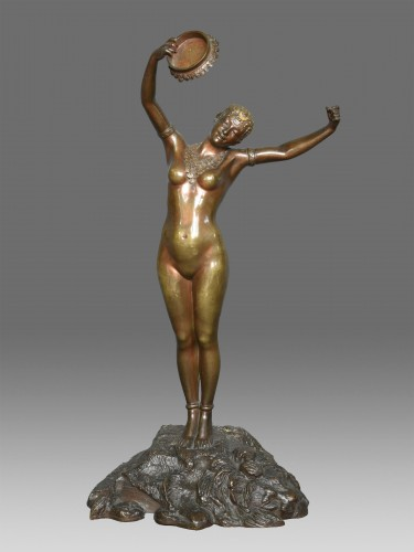 Dancer Louis Hottot (1834-1905) - Sculpture Style Art nouveau