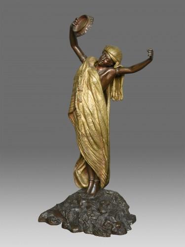 Sculpture  - Dancer Louis Hottot (1834-1905)