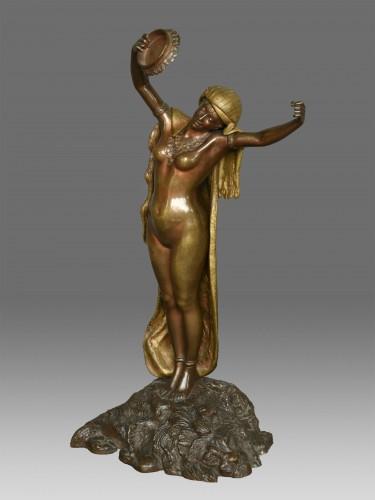 Art nouveau - Dancer Louis Hottot (1834-1905)
