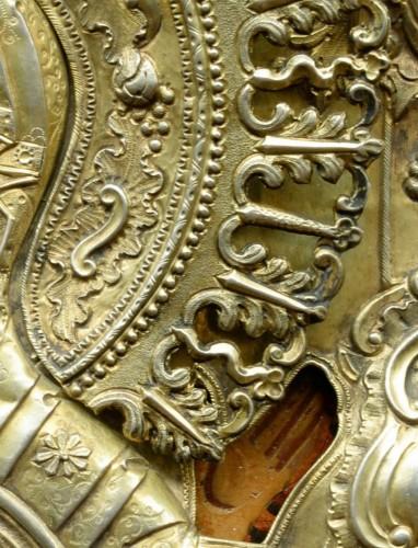 Icône Vierge De Signe vers 1650-80 -