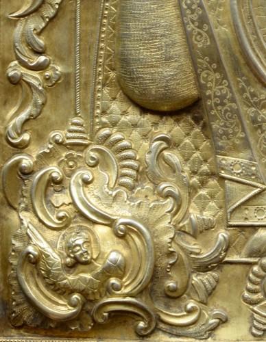 Renaissance - Icône Vierge De Signe vers 1650-80