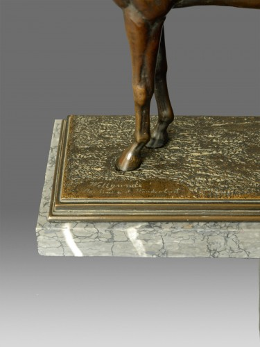 19th century - Otto Rasmussen (1845-1912) - Bronze Horse