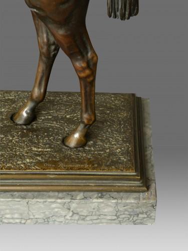 Napoléon III - Otto Rasmussen (1845-1912) - Bronze Horse