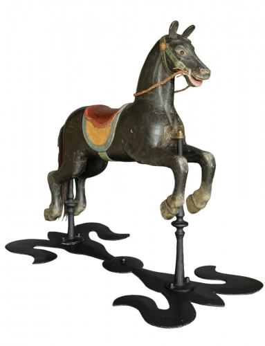 Original Carousel Horse Second Half 19th Century