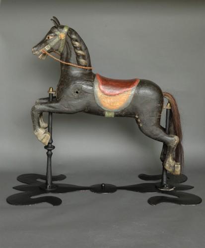 Original Carousel Horse Second Half 19th Century -