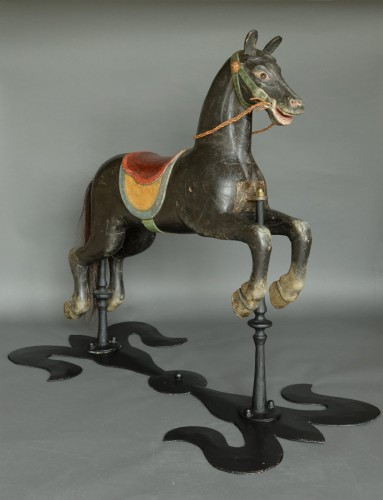 Original Carousel Horse Second Half 19th Century - Napoléon III