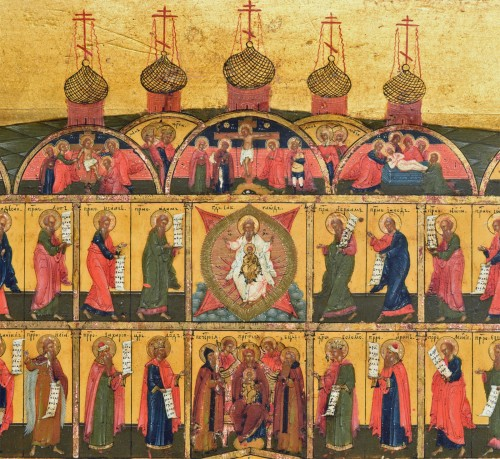 Icone miniature Iconostase -
