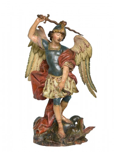 Saint Michel Italy Naples 18th century