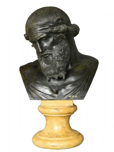Bust of Dionysus or Plato circa 1880