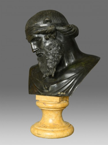 Bust of Dionysus or Plato circa 1880 -