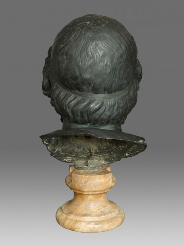 Sculpture  - Monumental bust of the philosopher Homer