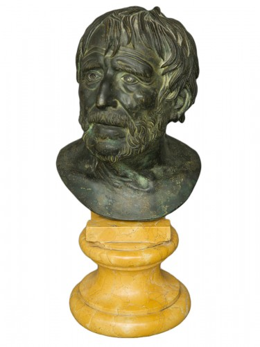 Bust of Seneca Italy 19th Century