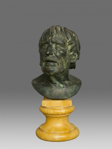 Bust of Seneca Italy 19th Century -
