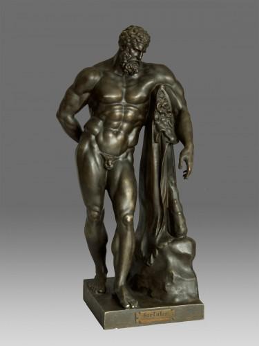 Hercules Farnese Berlin circa 1850 - Sculpture Style Louis-Philippe