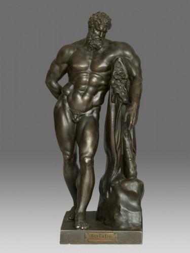 Antiquités - Hercules Farnese Berlin circa 1850