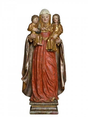 Madonna and Child with Saint Anne circa 1680