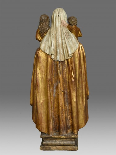 Sculpture  - Madonna and Child with Saint Anne circa 1680