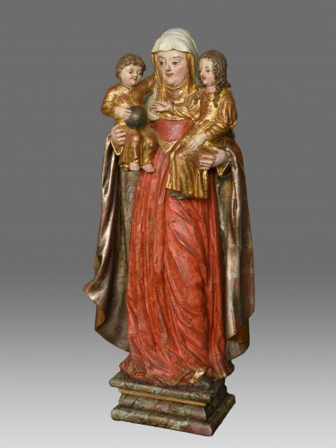 Madonna and Child with Saint Anne circa 1680 -