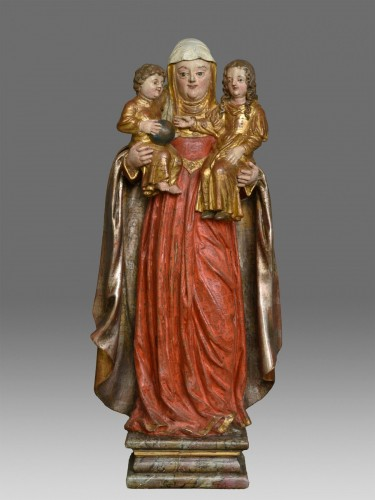 17th century - Madonna and Child with Saint Anne circa 1680
