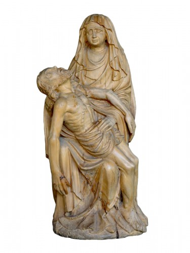 Late Gotic Pieta Sculpture