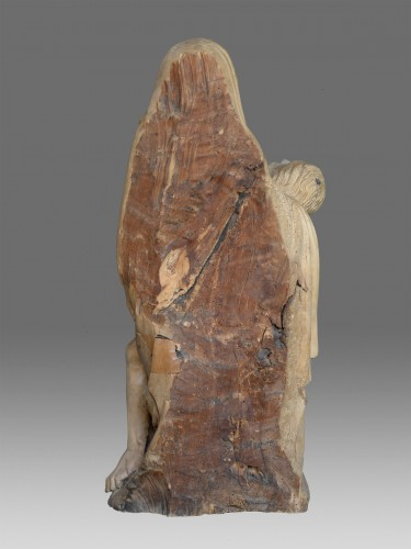 Late Gotic Pieta Sculpture - Sculpture Style Middle age