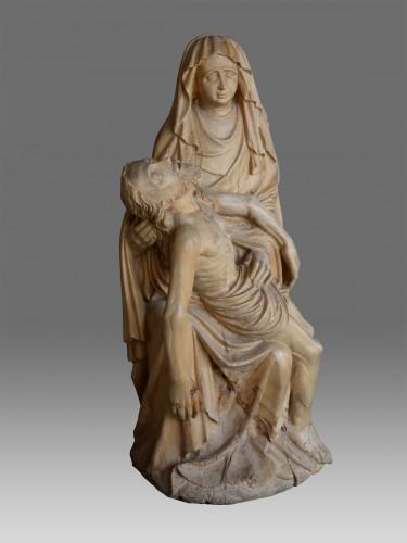 Sculpture  - Late Gotic Pieta Sculpture