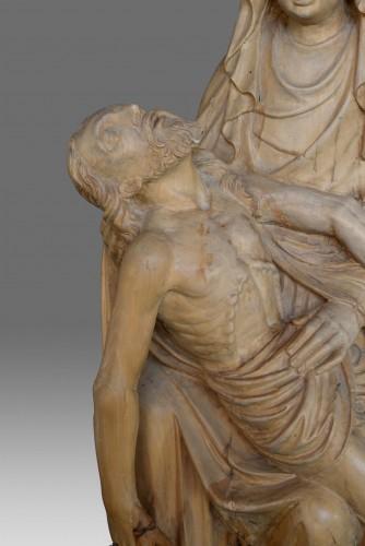 Late Gotic Pieta Sculpture -