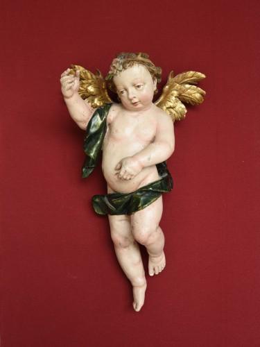 Sculpture  - Baroque Angels sculpture circa 1740-60