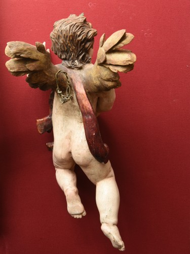 Baroque Angels sculpture circa 1740-60 -
