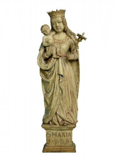 Virgin And Child Italy 1588
