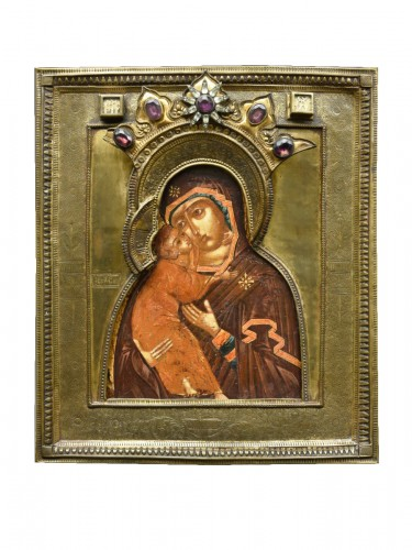 "Icon Mother of God "" Volokolamskaja"" 17th century"
