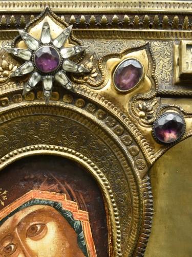 "17th century - Icon Mother of God "" Volokolamskaja"" 17th century"