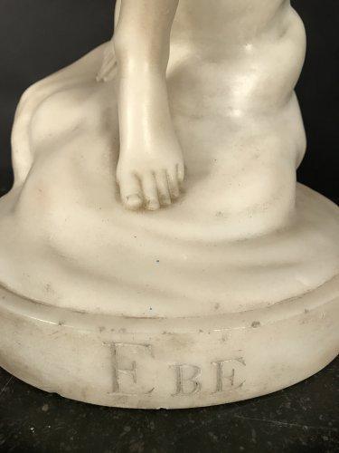 Vénus en marbre - Sculpture Style Louis-Philippe