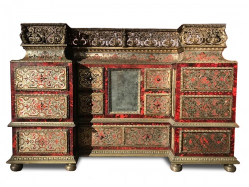 """""""Boulle"""" marquetry cabinet, early 19th century"""