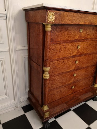 Mobilier Meuble d'appoint - Semainier époque empire