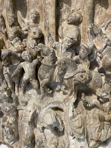 Renaissance Stone Relief - Sculpture Style Renaissance