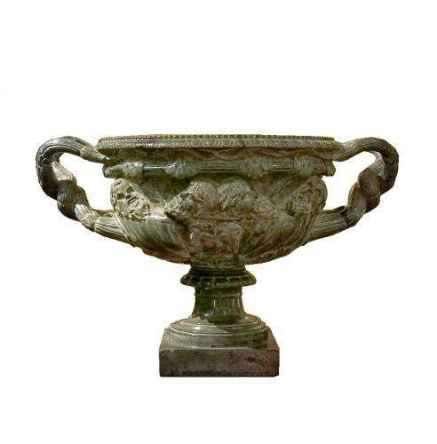 Serpentine basin, Italy early 19th century