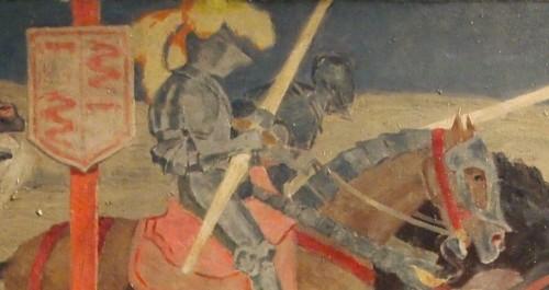 The Tournament - Henri SENE (1889-1961) -