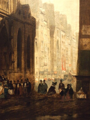 Leaving Mass  - Charles DARCHE (1810-1838) - Paintings & Drawings Style