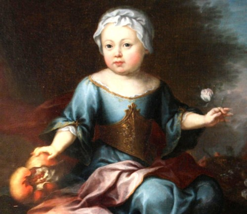Paintings & Drawings  - Children and Young Boy, 18th century painting