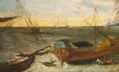 Paintings & Drawings  - Marine, Arrival and departure of the port