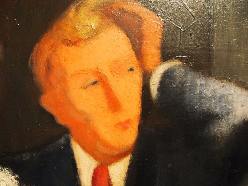 René Pierre Louis BESSERVE ( 1883- 1959) -  La digestion -