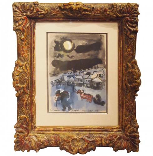 Marc Chagall (1887·1985) - En route