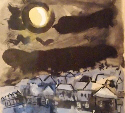 Marc Chagall (1887·1985) - En route  -