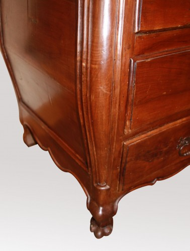 Furniture  - Chest of drawers writing cabinet Louis XV