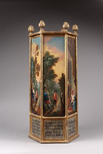 Rare 18th century  ex-voto - Religious Antiques Style