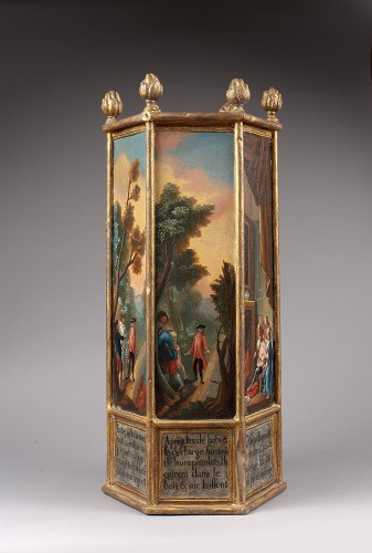 18th century  ex-voto - Religious Antiques Style