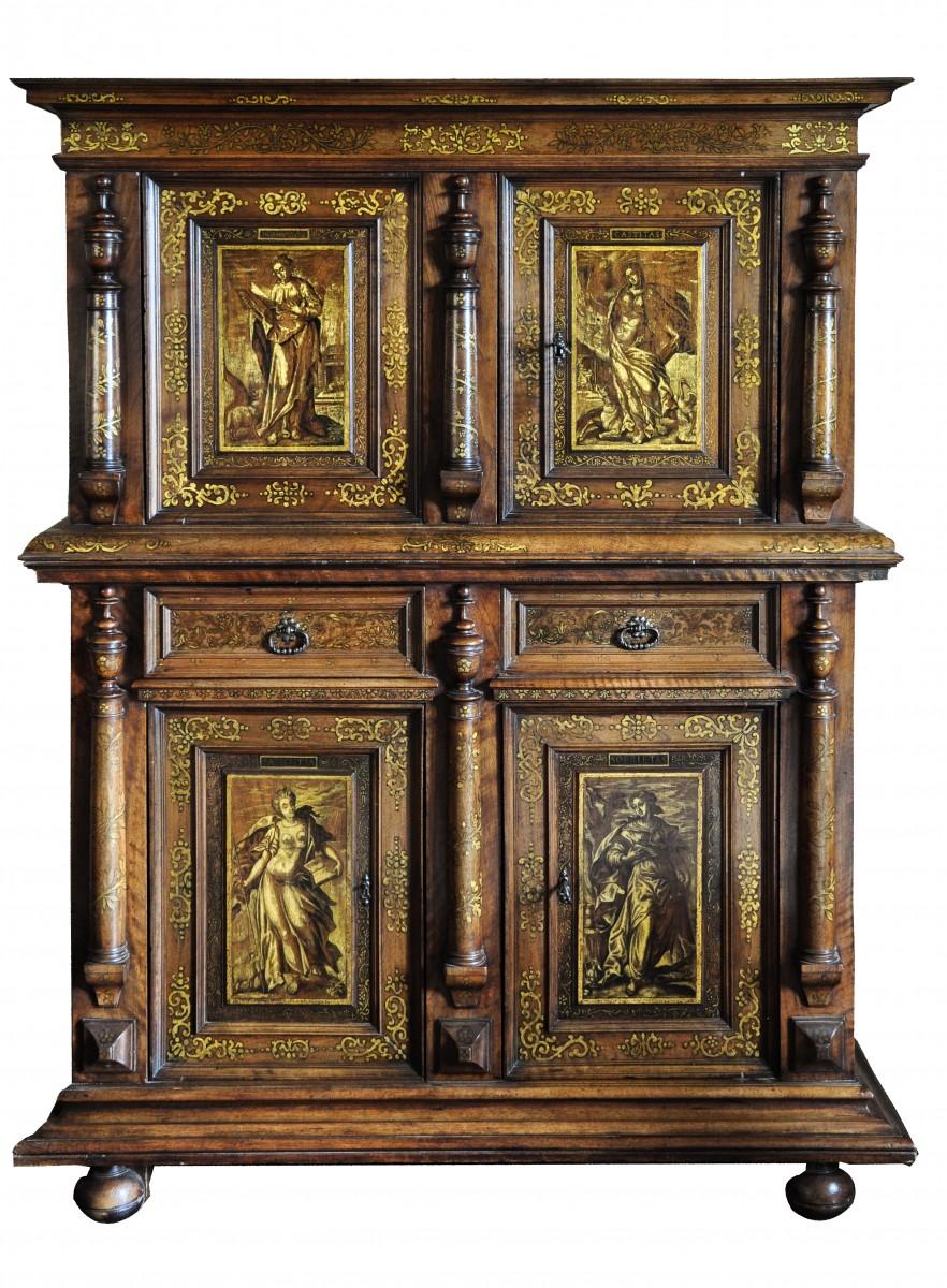 Dresser Of Vitues 17th Century Ref 70077