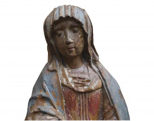 Sculpture  - Sainte of calvary, 15th century